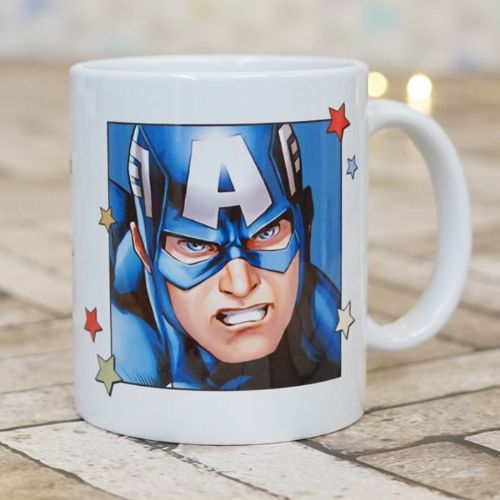 Captain America Personalised  Mug